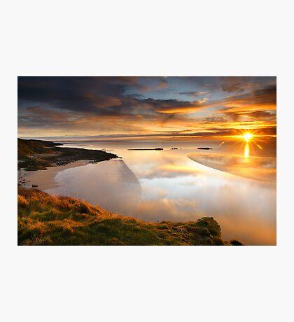 Castle Point Sunrise Photographic Print