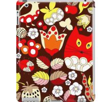 cartoon red cat iPad Case/Skin
