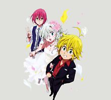 nanatsu no taizai seven deadly sins meliodas gowarth elizabeth anime manga shirt Unisex T-Shirt