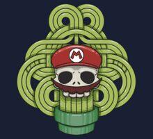 Mario Skull One Piece - Short Sleeve
