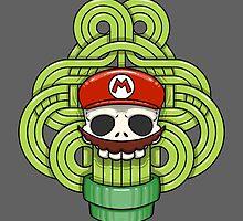 Mario Skull by crabro