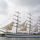 "Russian Sailingship ""MER"" by Robert Abraham"
