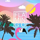 Flamingo Summer night by mikath