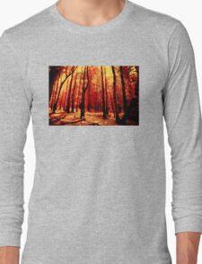 Forest heat Long Sleeve T-Shirt
