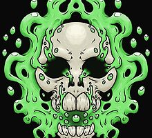 Floating Skull by crabro