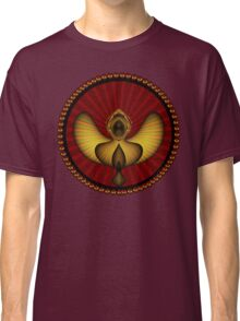 Strong Black Angel, protecting you Classic T-Shirt