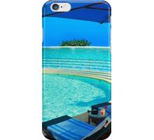 The Maldives - romantic atoll island paradise with luxury resort  iPhone Case/Skin
