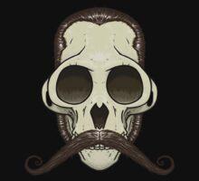 Gentleman Monkey Skull One Piece - Short Sleeve
