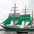 "German Sailingship ""Alexander Von Humboldt 2 "" by Robert Abraham"