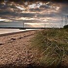 West Mersea beach, Essex by David Isaacson
