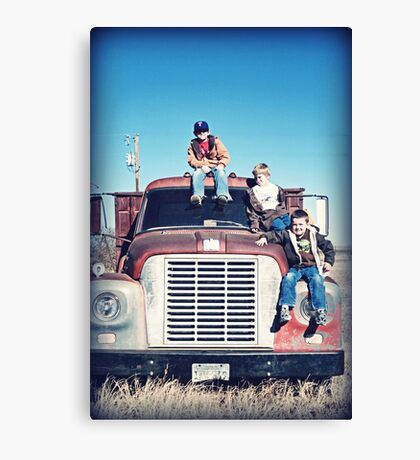 Country Cousins Canvas Print