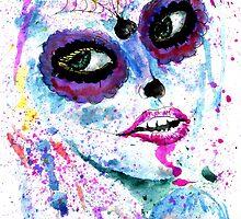 Sugar Skull Girl by AnnArtshock