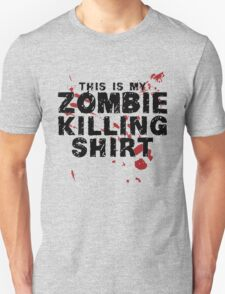 This Is My Zombie Killing Shirt Zombies T-Shirt