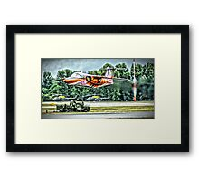 Don't Fly To Low ! Framed Print