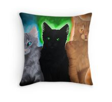 Warrior cats - Power of Three Throw Pillow