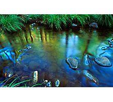 Carnarvon Creek reflections, Carnarvon Gorge National Park Photographic Print