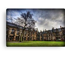 Glasgow Uni Quadrangle Canvas Print