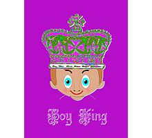 Toon Boy 4 King T-shirt & leggings, etc. design Photographic Print