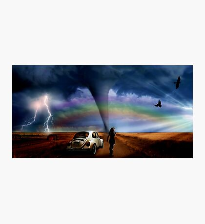 Somewhere Over The Rainbow... Photographic Print