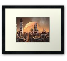 Planet View from Cresta Tower Framed Print
