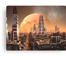 Planet View from Cresta Tower Canvas Print