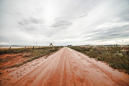 The Outback Road by rossco