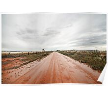 The Outback Road Poster