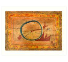 From The Wheel, Six Art Print