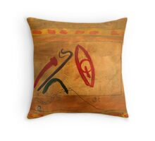 In The Gold Room Throw Pillow