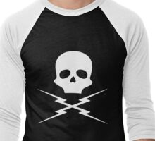 Skull and Bolts Men's Baseball ¾ T-Shirt