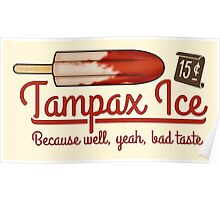 Tampax Ice Poster