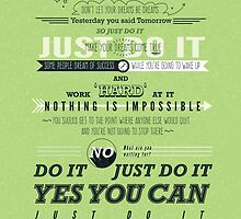 JUST DO IT by capefoxalix