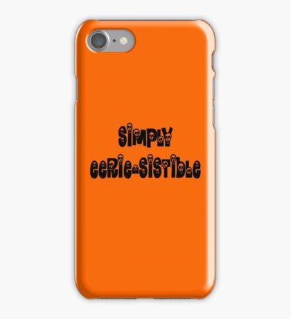 Simply Eerie-sistible iPhone Case/Skin