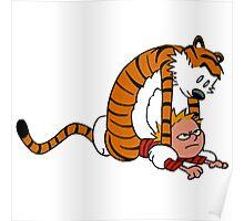 Calvin & Hobbes,Street Fighter Poster