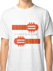 Guitar sound of music Classic T-Shirt