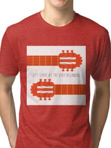 Guitar sound of music Tri-blend T-Shirt