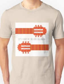 Guitar sound of music Unisex T-Shirt
