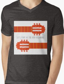 Guitar sound of music Mens V-Neck T-Shirt