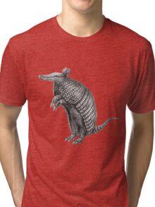 Pencil drawn armadillo Tri-blend T-Shirt