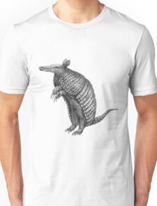 Pencil drawn armadillo Unisex T-Shirt