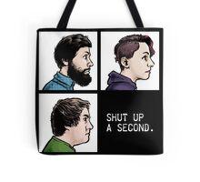 Shut Up a Second 2015 Logo Tote Bag