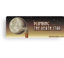 Plumbing Bumper Canvas Print