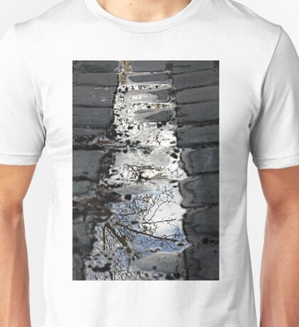 Plane trees in puddles Unisex T-Shirt