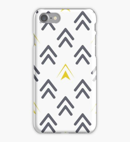 Texture of arrows iPhone Case/Skin