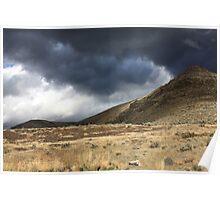 Ancient Rhythms  (Storm over Yakima) Poster