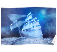 The Flying Dutchman . . . a ghost ship Poster