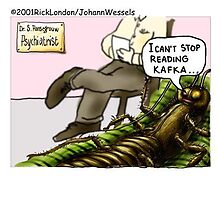 Roach In Therapy by Londons Times Cartoons by Rick  London