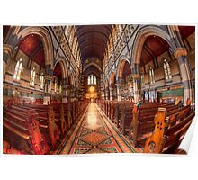 St Paul's Cathedral • Melbourne • Australia  Poster