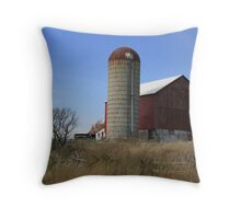 A Typical Rural Farm! Throw Pillow