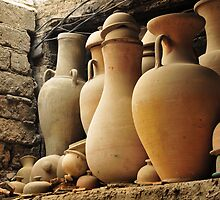 Pottery Shop - Fes, Morocco by kamradoc